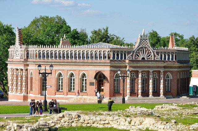В музее Царицино