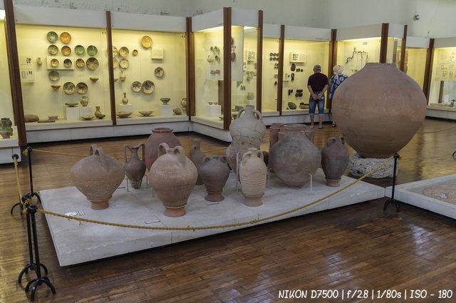 Артефакты раннесредневекового периода византийской экспозиции Херсонеса