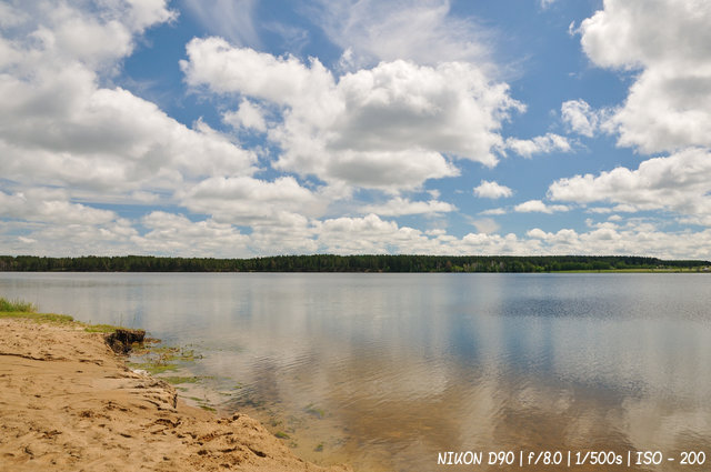 Солёное озеро в Завьялово
