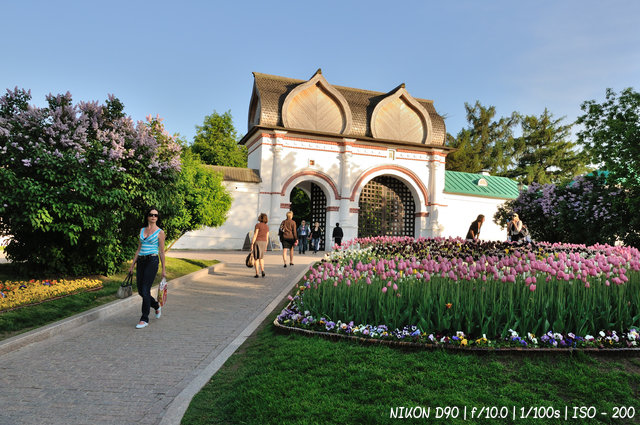 Спасские (Задние) ворота со Стрелецкими караульнями