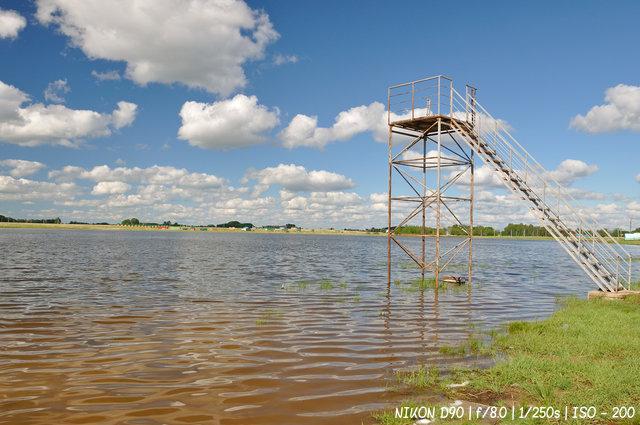 Щелочное озеро в Завьялово