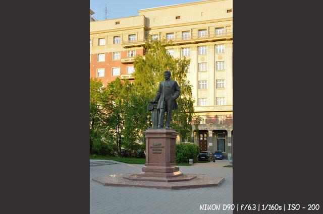 Памятник архитектору Андрею Дмитриевичу Крячкову