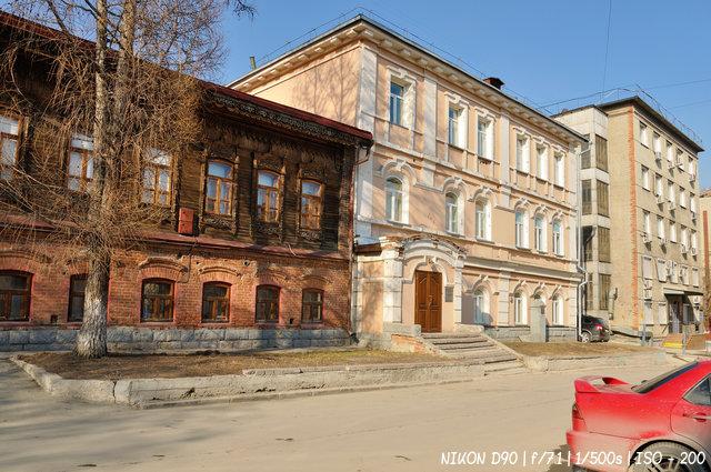 Дом Лихачёва на улице Каинской
