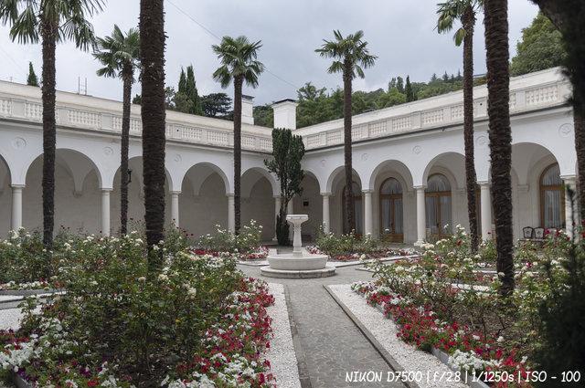 Итальянский дворик Ливадийского дворца