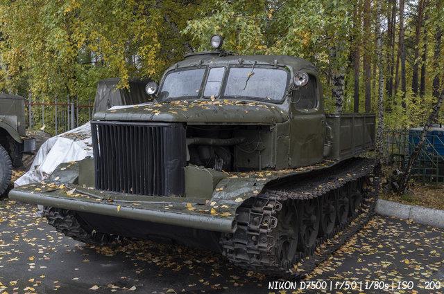 АТ-Л - артиллерийский тягач - легкий в музее имени Н.А. Акулинина