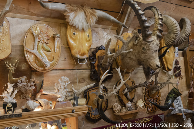 Сувениры в музее Оминых