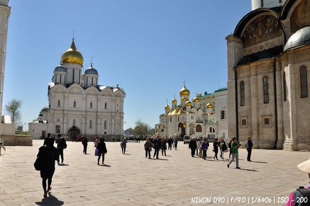 Соборная площадь Кремля