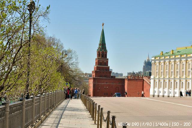 На экскурсии в Кремле