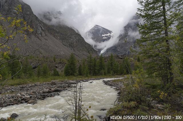 Дорога на ледник Актру
