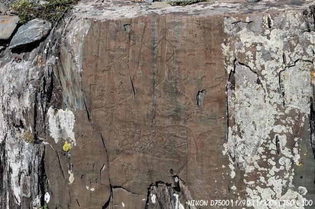 Рисунки древнего святилища