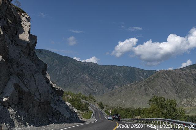 Красивые пейзажи Чуйского тракта