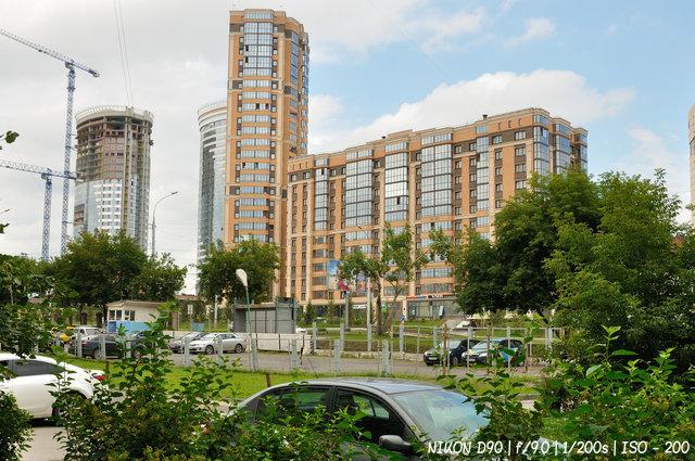 Новосибирск строится