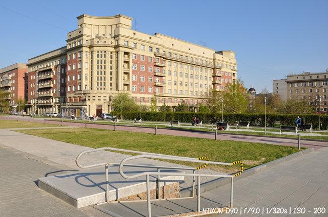 Стоквартирный дом в Новосибирске