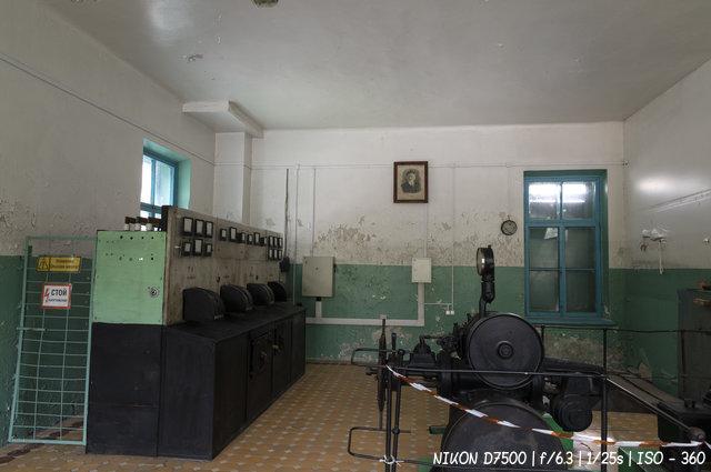 Машинный зал Чемальской ГЭС