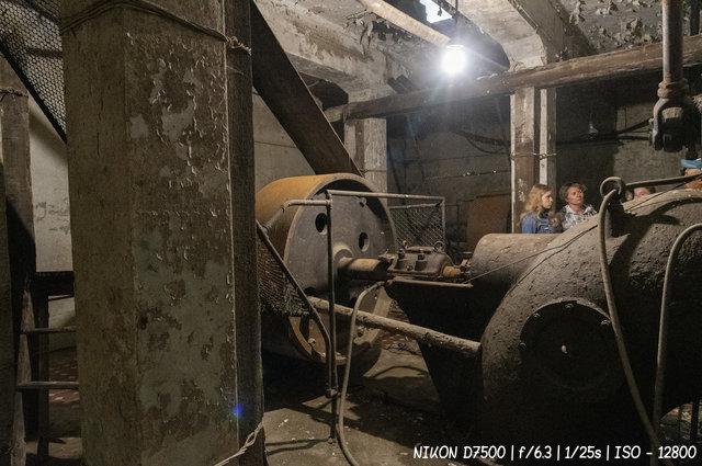 В турбинном зале Чемальской ГЭС