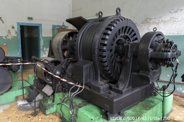 Электрогенератор Чемальской ГЭС