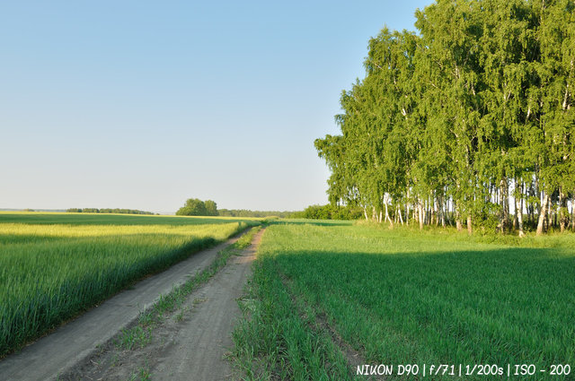 По сельской дороге