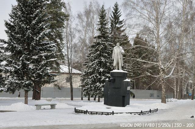 Зимний Ленин