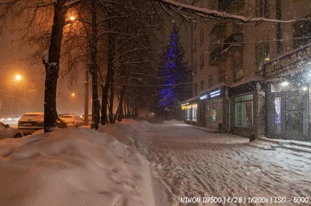 Новосибирск предновогодний
