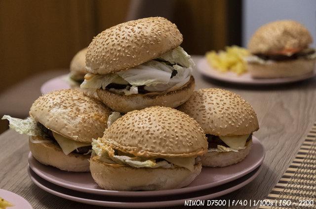 Гамбургеры на ужин