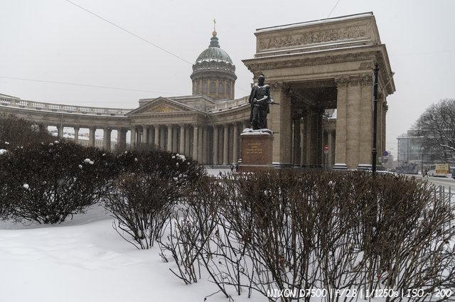 Метель на Невском проспекте