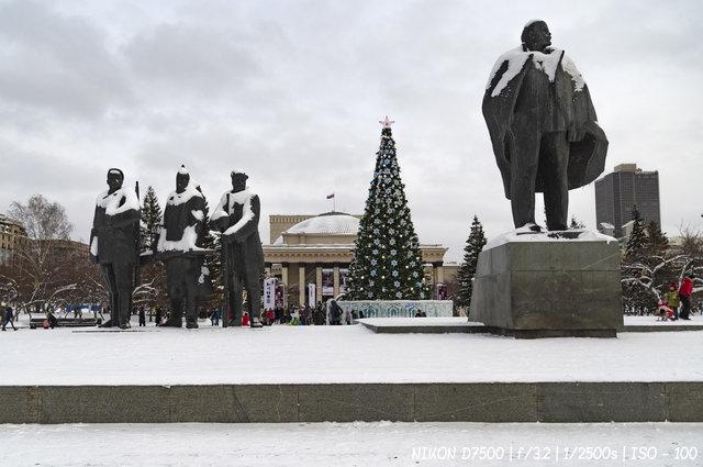 Новосибирск новогодний 2019