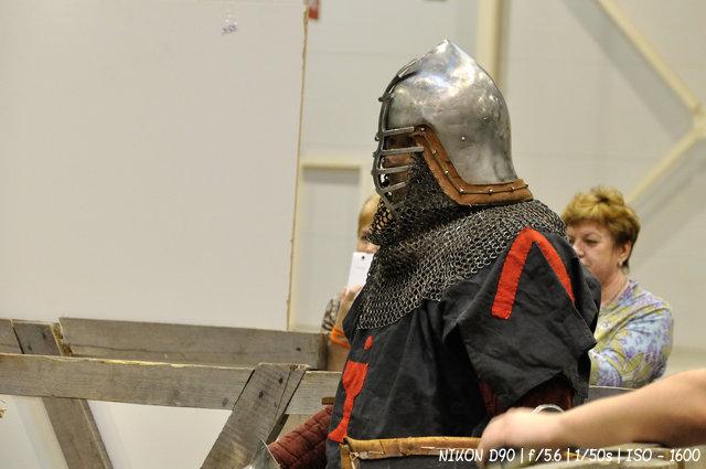Боец средневековья