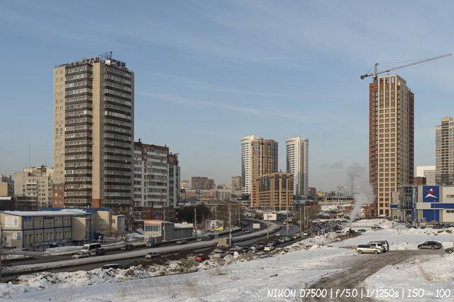 Улица Ипподромская в Новосибирске