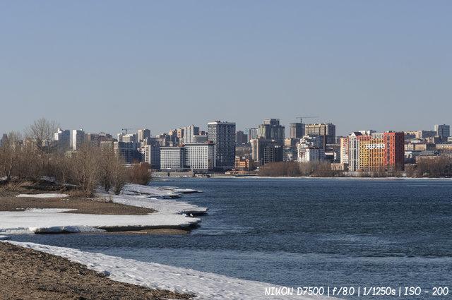 Новосибирск в апреле