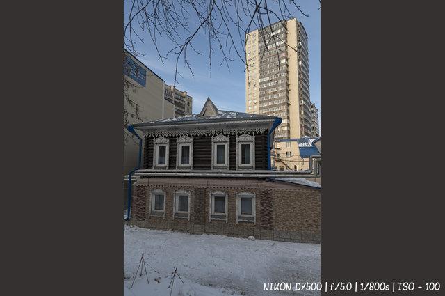 Деревянный дом на улице Кривощековской