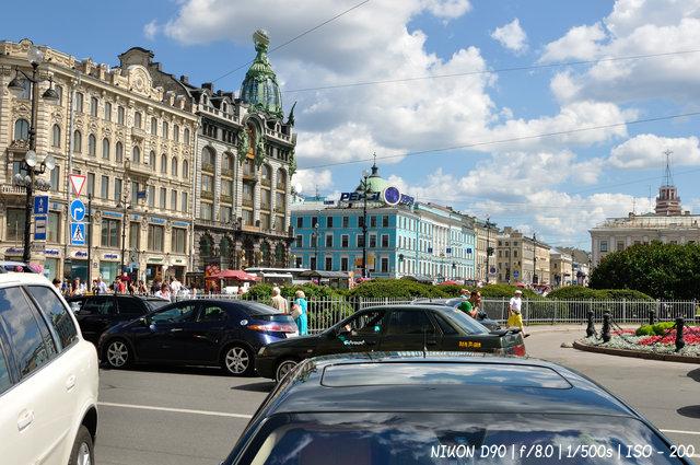 Облака над Невским