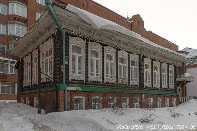 Дом В.В. Никитина на улице Сибревкома