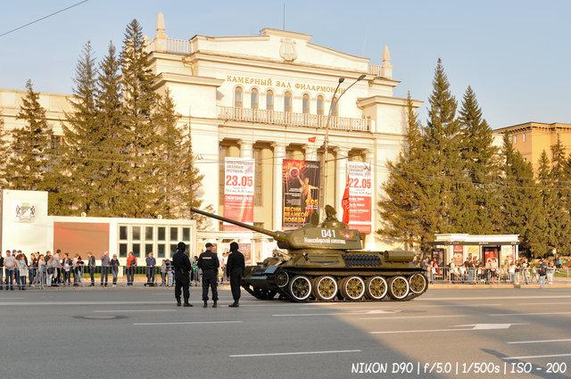 Т-34 к параду Победы готов!