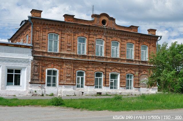 Дом купца Н.Т. Орлова в Колывани. Построен в 1898г.