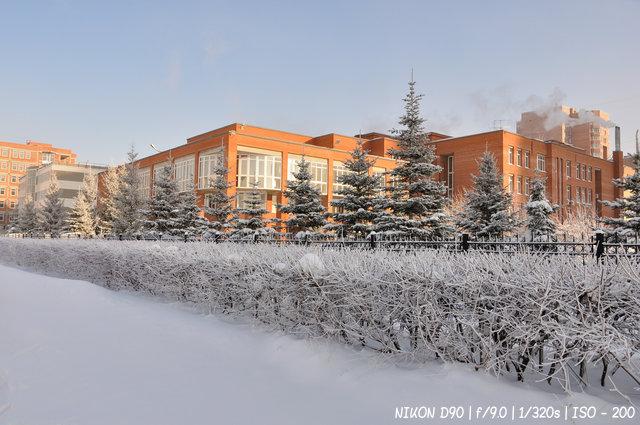 Зима на улице Шевченко
