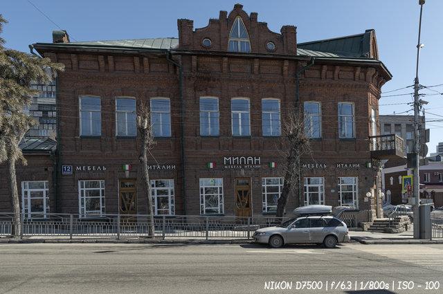 Дом Сабурова на Красном проспекте