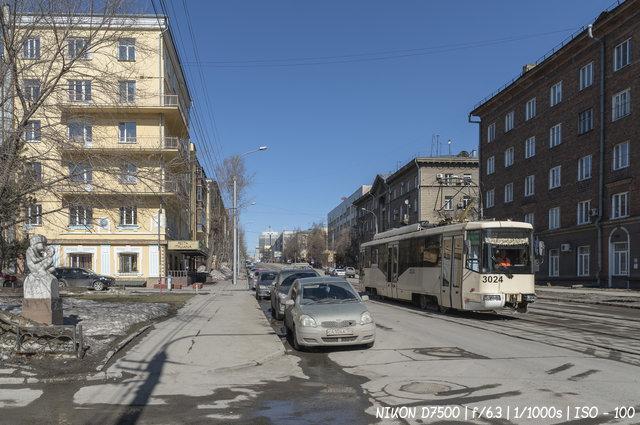 Весна на улице Серебренниковской