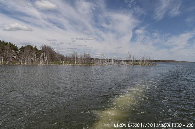 Прогулка по озеру Горькое в селе Гуселетово