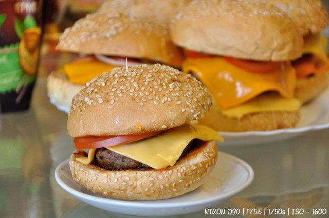 Гамбургер из натуральных продуктов