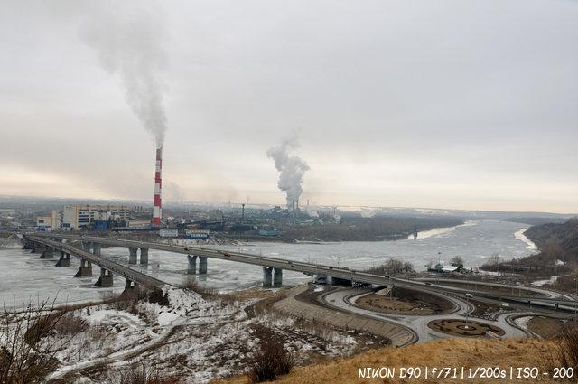 Кузнецкий мост в Кемерово.